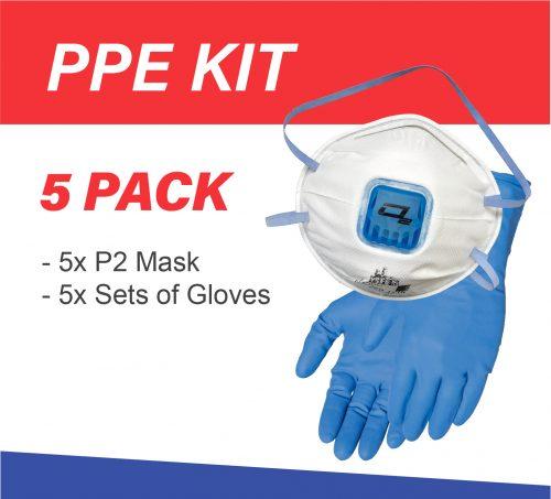 DIY Meth testing PPE kit 5-pack
